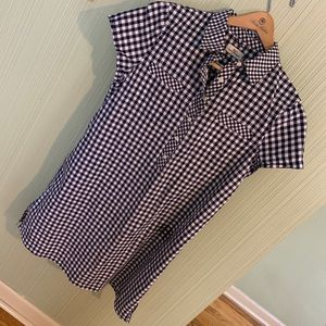 Vineyard Vine Gingham Shirt Dress - Sz 12
